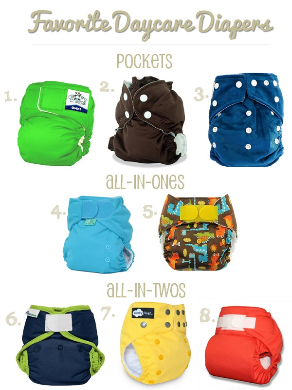cloth diapers at daycare - our favorite daycare-friendly cloth diaper brands and styles