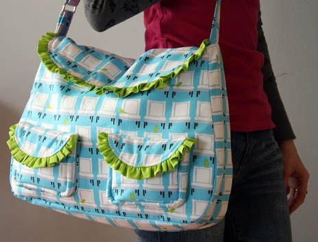 cute free diaper bag pattern