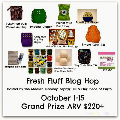 cloth diaper giveaway prize