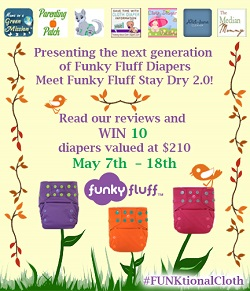 funky fluff cloth diaper giveaway 2014