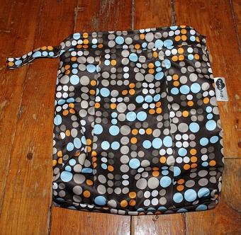 funky fluff wet bag