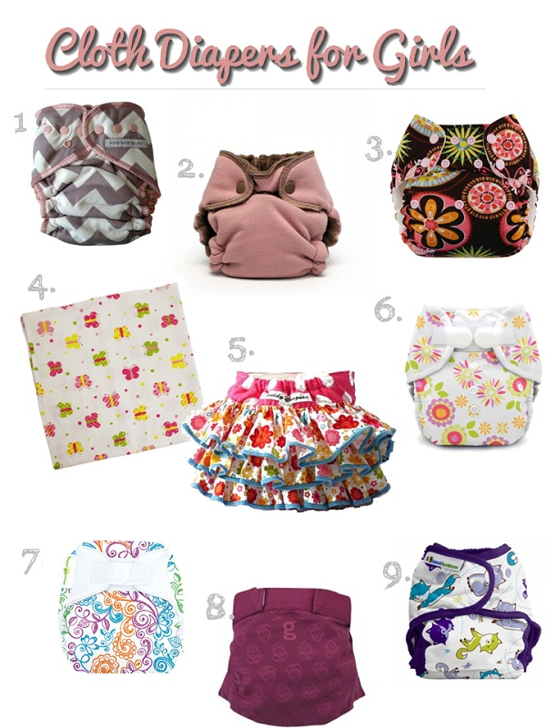 Cloth Diapers For Girls