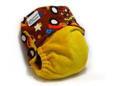 Greenchild - Trucks Custom diaper