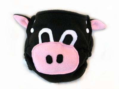 Greenchild - Cow Custom diaper