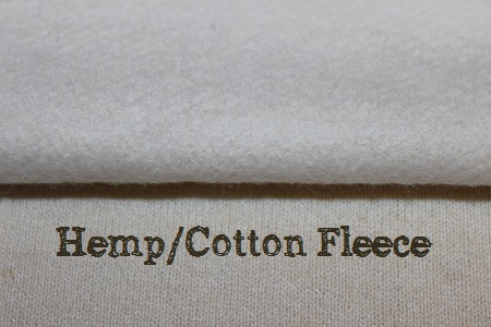 hemp fleece for cloth diaper inserts