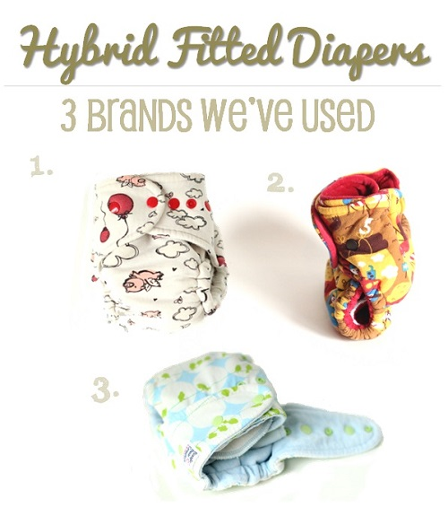 hybrid fitted diaper brands