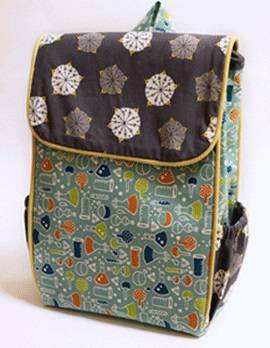 lil hiker backpack sewing pattern - could be used as a diaper bag too