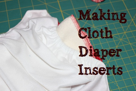 making cloth diaper inserts