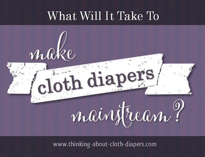 What will it take to make cloth diapers mainstream?