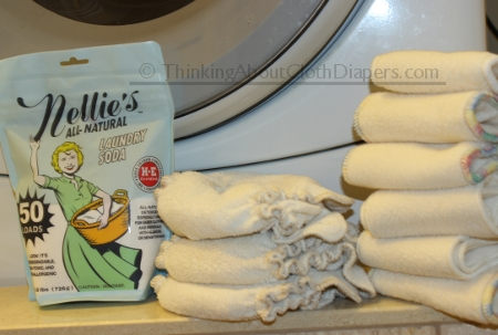 Nellies Laundry Soda - the favorite cloth diaper detergent of Thinking About Cloth Diapers: read the review here