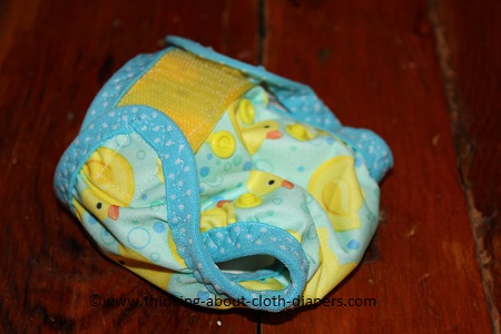 cloth diaper cover tutorial