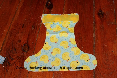 newborn diaper cover tutorial sewing velcro