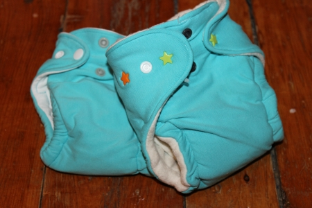 making a newborn cloth diaper tutorial