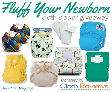 newborn cloth diaper giveaway