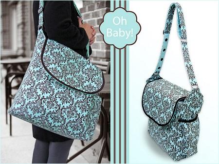 messenger style diaper bag pattern
