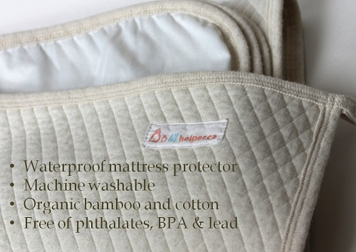 organic crib mattress pad