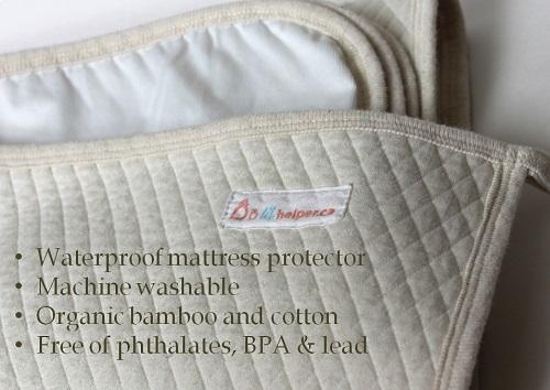 organic crib mattress pad