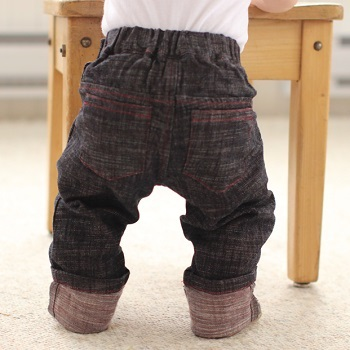 project pomona little sport eco fit baby's jeans