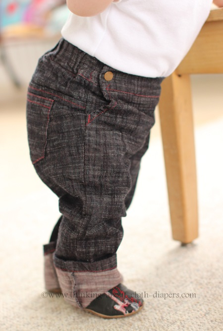 project pomona jeans side view
