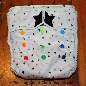 ragababe all-in-two cloth diaper
