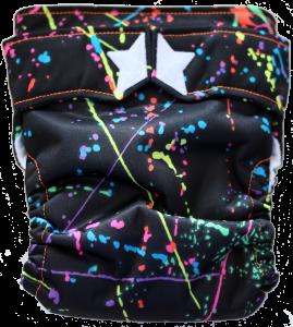Ragababe 2-step paint splatter