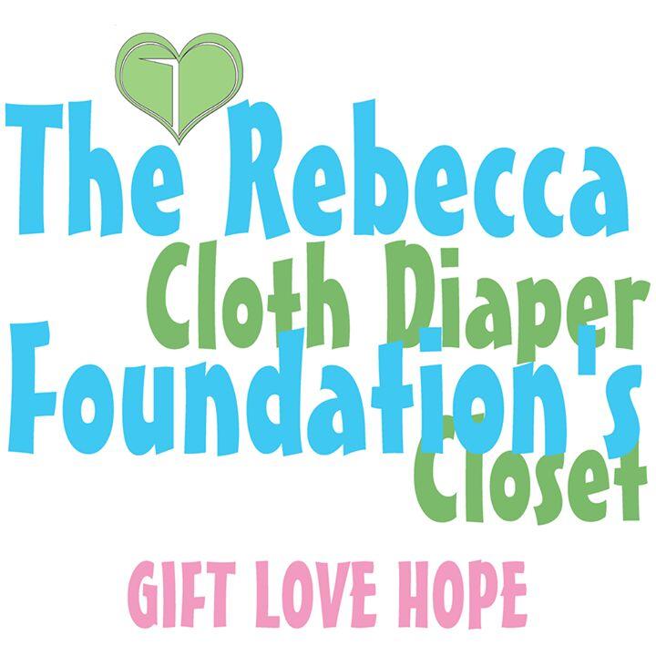 rebecca foundation's cloth diaper closet logo