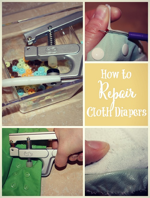tools needed to repair cloth diapers