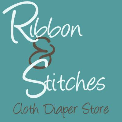 ribbon and stitches cloth diaper retail button