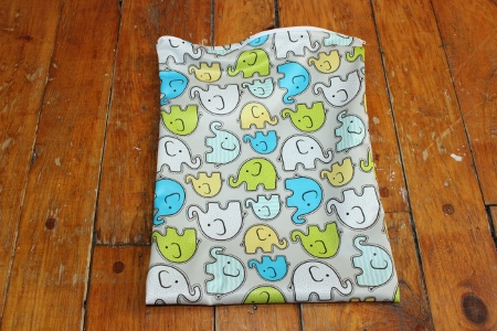 make a cloth wet bag