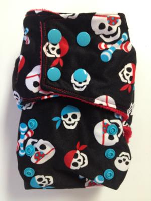 Smush Tush Custom Cloth Diaper - Pirates