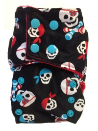 Pirates Custom Cloth Diaper from Smush Tush
