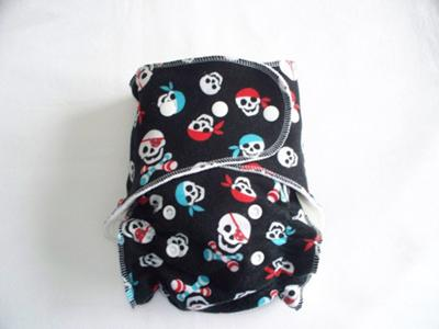 Baby Pirates One Size Fitted Cloth Diaper by Soothe Baby