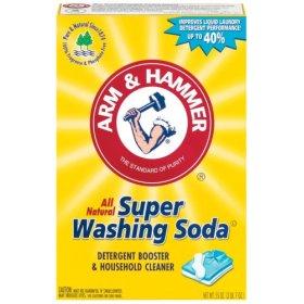 laver le soda pour nettoyer les couches lavables