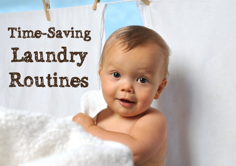 how to wash cloth diapers - time-saving laundry routines