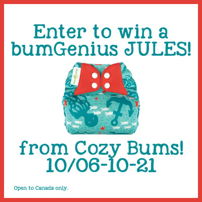 win a bum genius jules