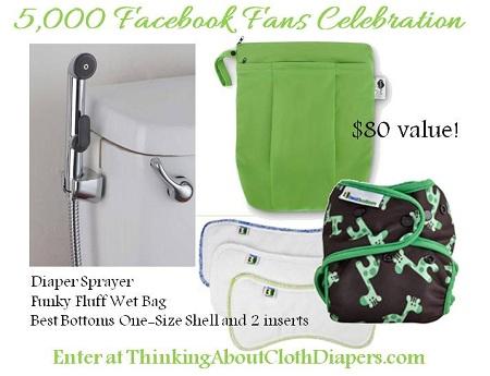 Cloth Diaper Sprayer Prize Pack