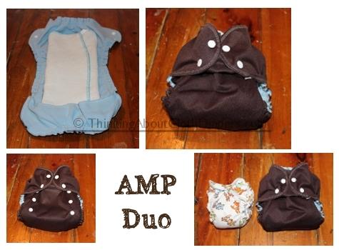 AMP Duo AI2 cloth diaper