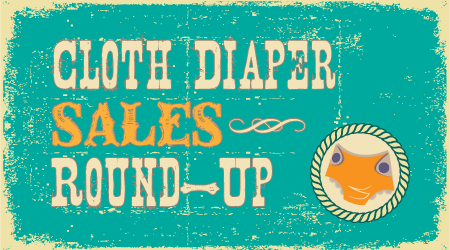 discount cloth diapers and special sales