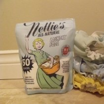 Nellies laundry soda review from Thinking About Cloth Diapers