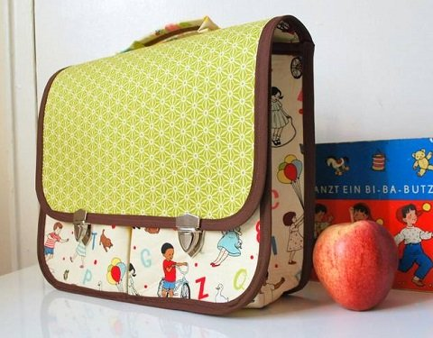 free diaper bag pattern with pockets and flap
