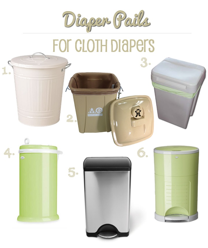 cloth diaper pails