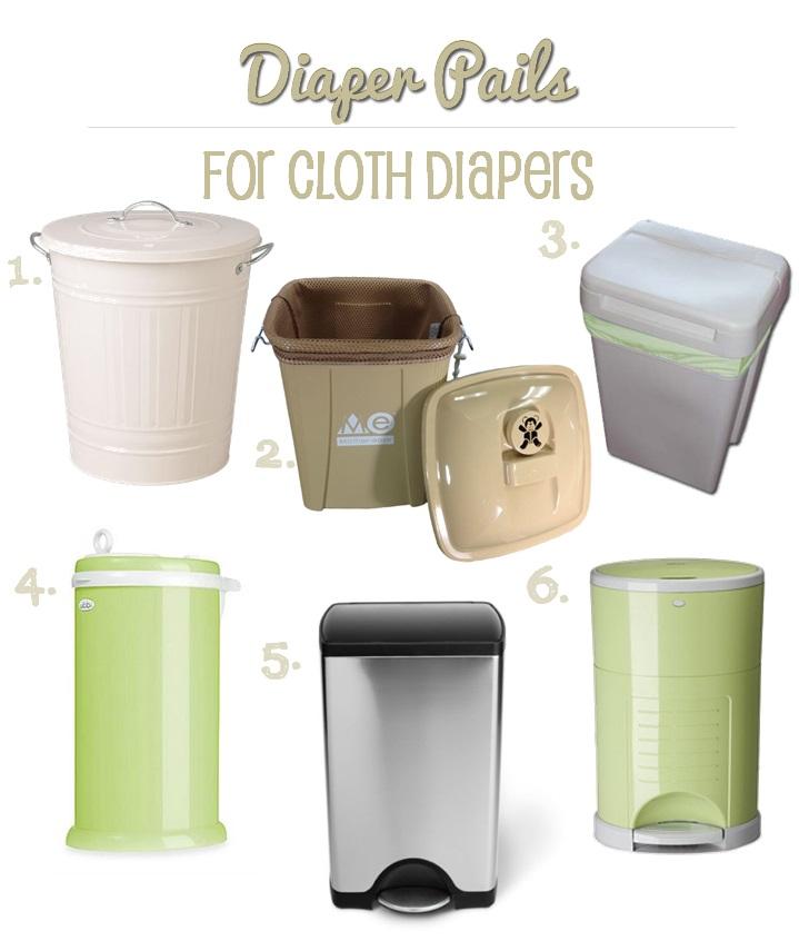 cloth diaper pails