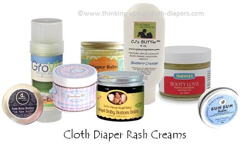 cloth diaper rash cream