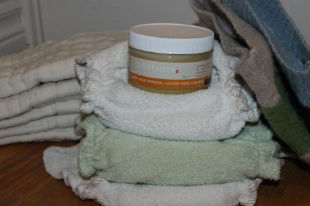 More about diaper rash and cloth diaper friendly rash creams from Thinking About Cloth Diapers