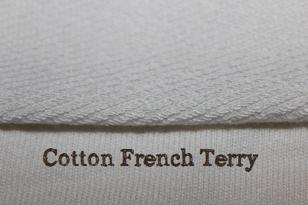 cotton french terry for cloth diaper inserts
