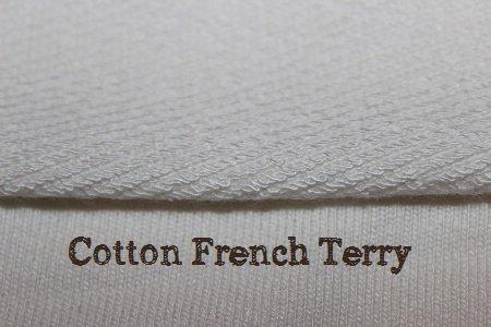 français de coton terry pour les inserts de couches lavables