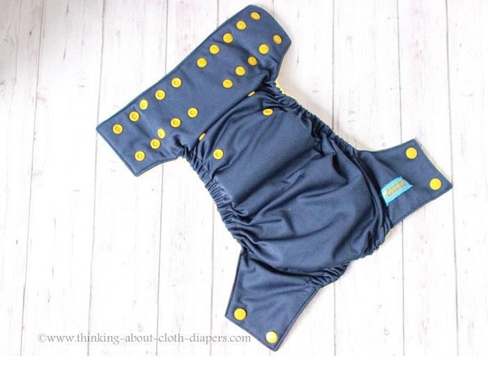 ella bella bum pocket diaper outer