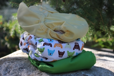 Thirsties and Flip cloth diapers