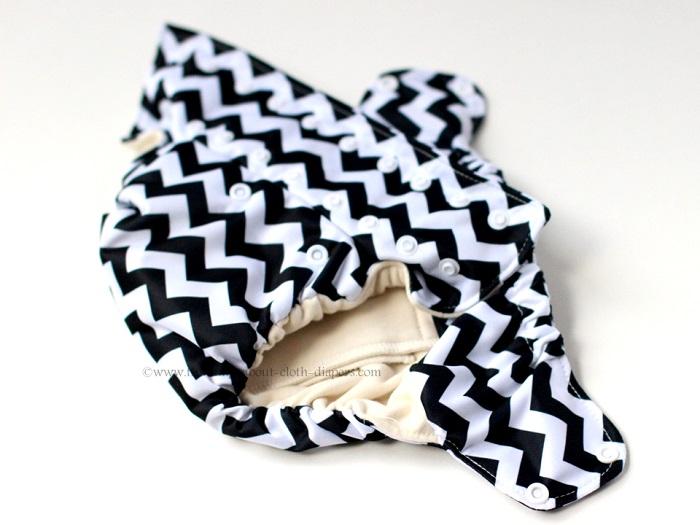 smart bottoms organic cotton all-in-one cloth diaper