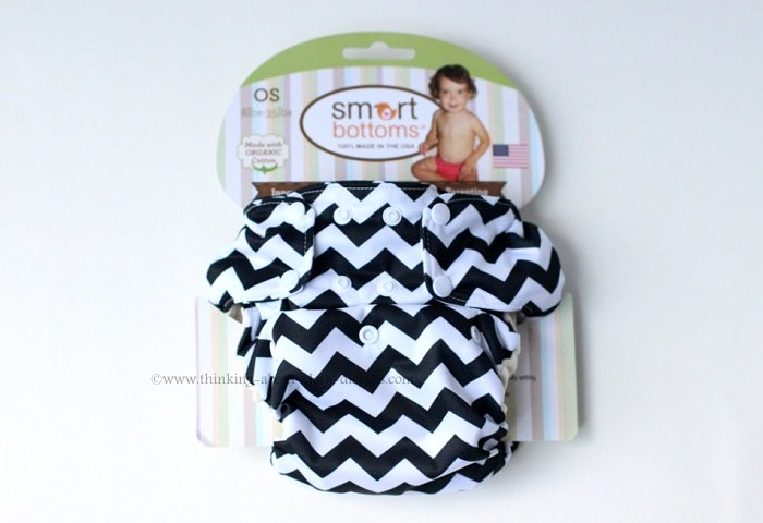 smart bottoms 3.1 AIO cloth diaper in packaging